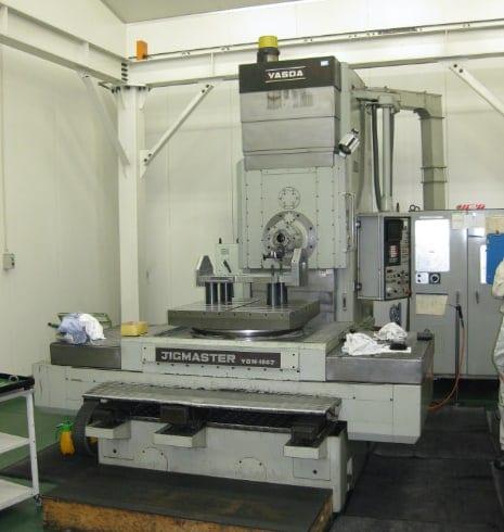 安田工業 横型治具中グリフライス盤 YBM-100J